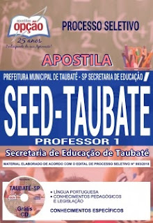 Apostila Professor i SEED Taubaté 2018