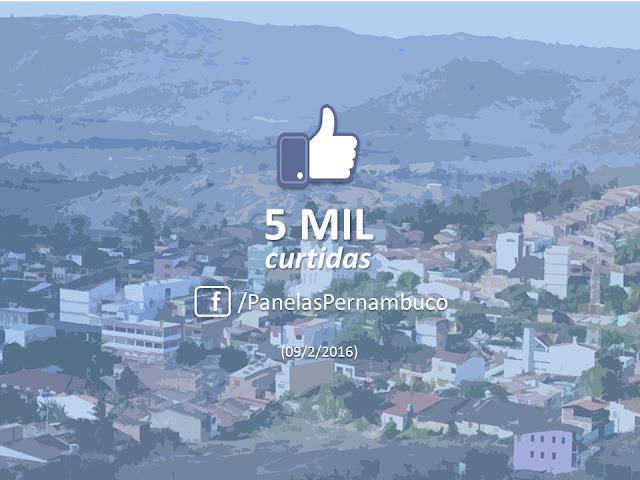 5 mil curtidas no Facebook