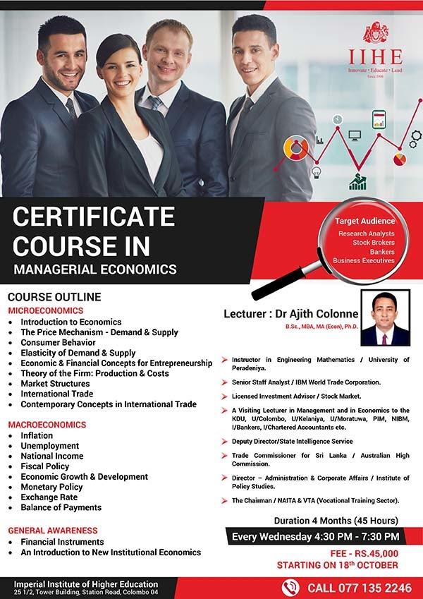 financial economics course outline Courses the school of economics and finance offers courses in economics, finance, econometrics and actuarial science at.