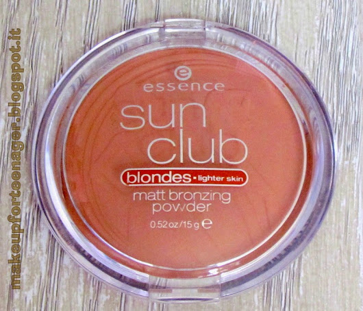Essence sun club matt bronzing powder Review
