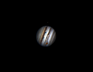 Jupiter rotation video 3-8-17