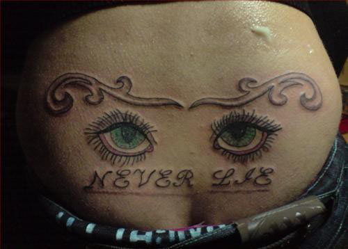 tramp stamp tattoos pictures Worst