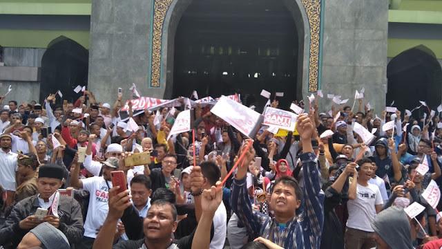 Meski Neno Dipaksa Pulang, Begini Penampakan Deklarasi #2019GantiPresiden Riau