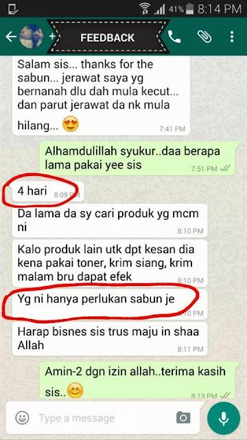 Testimoni Sabun Pewiit