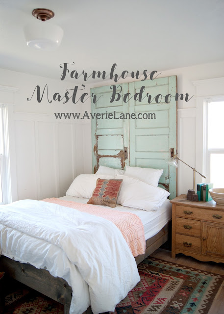 Farmhouse Master Bedroom Reveal - One Room Challenge