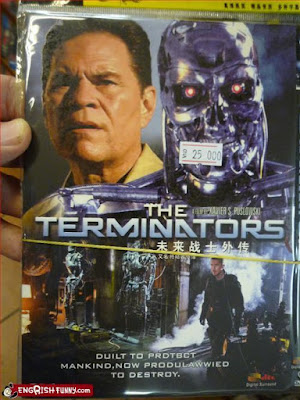 terminators dvd unlicensed product