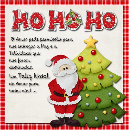 Mensagem de Natal para todos e amor Whatsapp Facebook