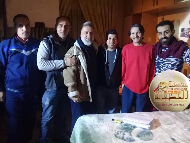 """"""" محمد عبود """" عشقت الفن منذ الصغر.. أعمل لأقدم شيء جديد للدراما السورية"""