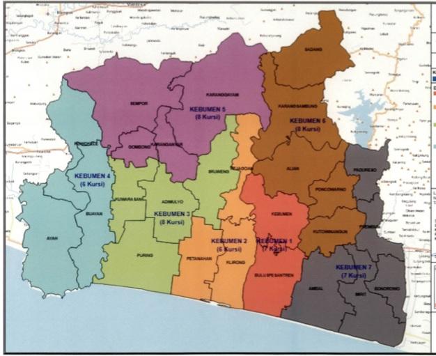 Pemilu 2019, Kecamatan Gombong Berubah jadi Dapil 5