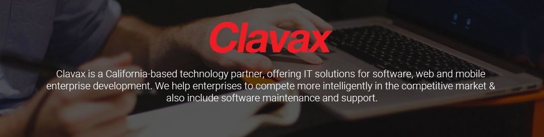 Clavax | Web + Mobile Application development company California