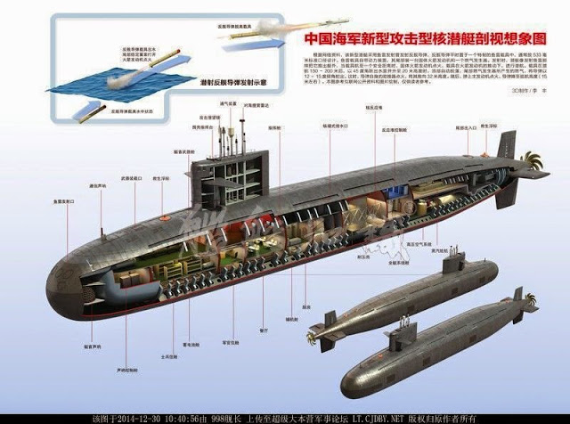 tmp china s new type 093b nuclear powered attack submarine topic rh theminiaturespage com