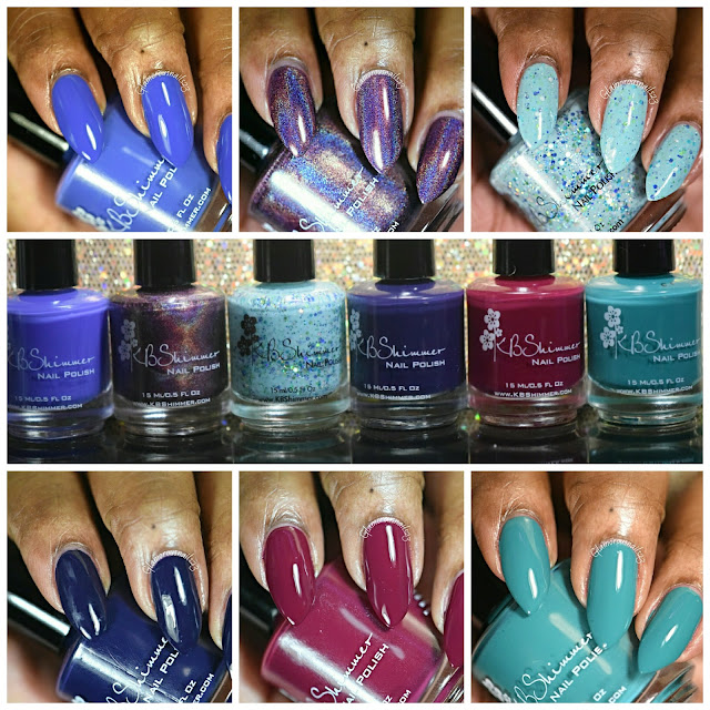 KBShimmer Fall 2015 Collection [My Picks] Swatches & Review