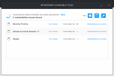 Check Your Device Bitdefender Vulnerabily Scanner