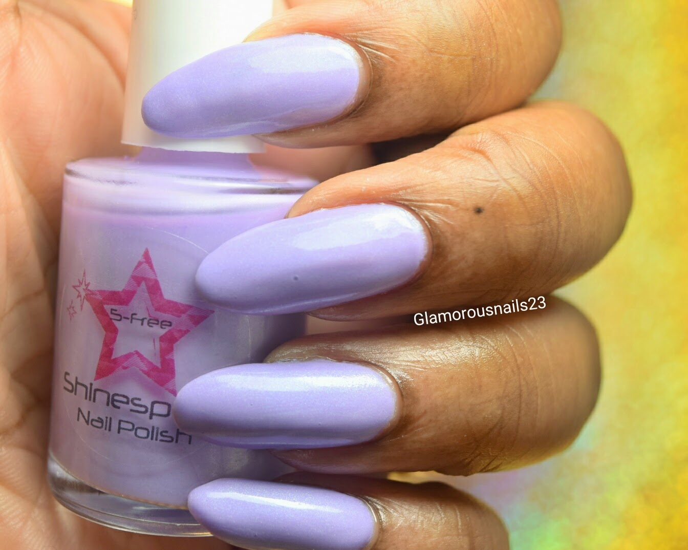 Shinespark Polish Periwinkle Swatch