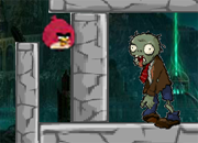 Angry Birds vs Zombies Red