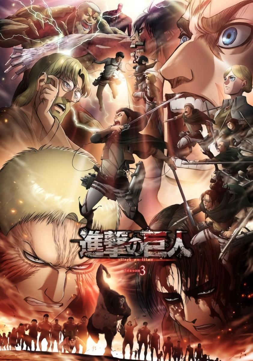 Shingeki no Kyojin S3 Part 1 & Part 2 Batch Subtitle Indonesia [x265]