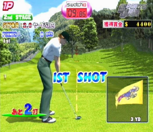 Sports Jam Golf