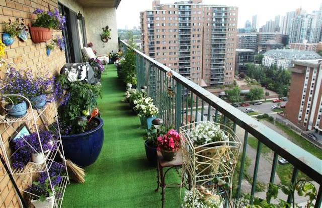 Menata Taman Di Apartemen