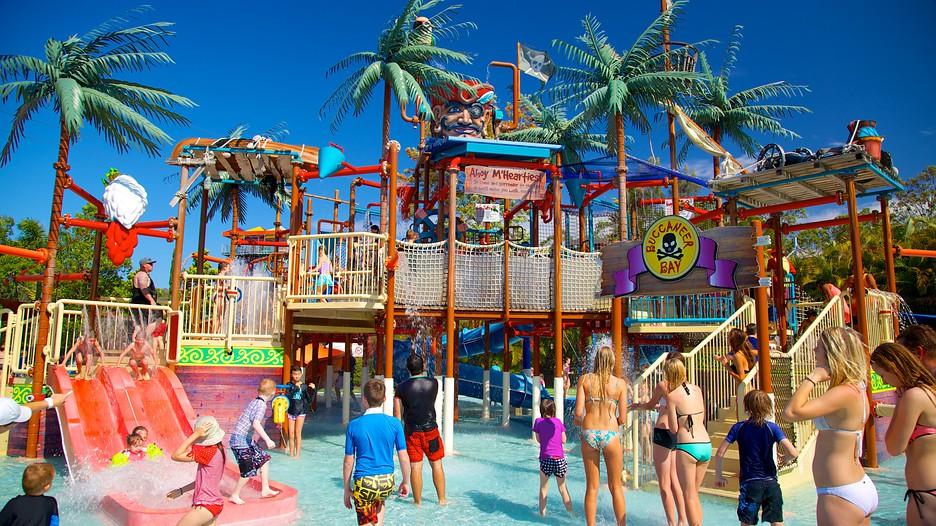 黃金海岸-黃金海岸景點-推薦-狂野水世界-Gold-Coast-Attraction-Wet'n'Wild-Tourist-destination