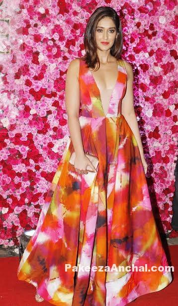 Ileana D'Cruz in Aiisha Ramadan Gown at Lux Golden Rose Awards