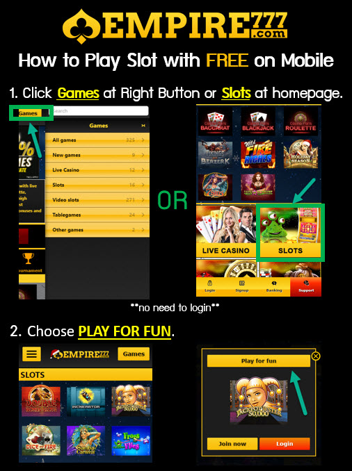 free online mobile casino  slot games