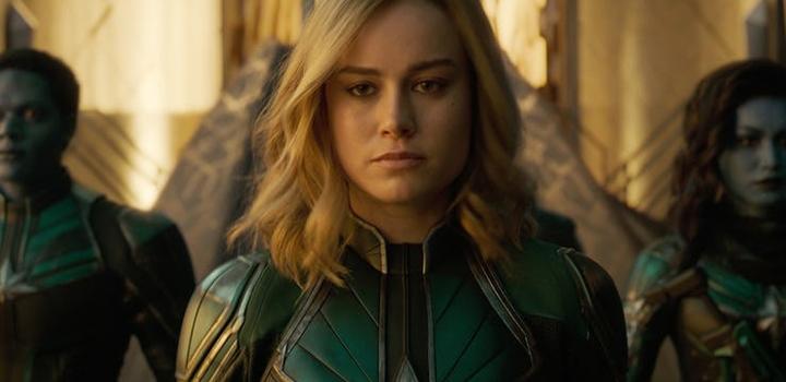 Capitã Marvel filme 2019