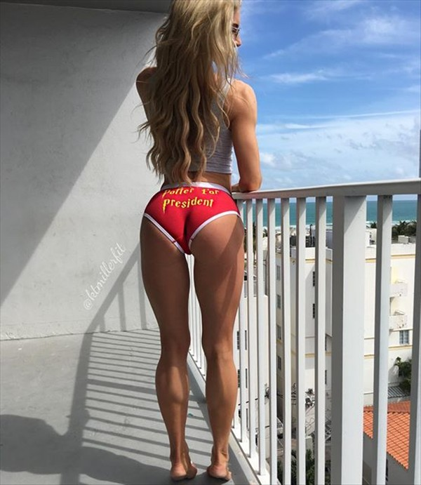Fitness Model Katie Miller
