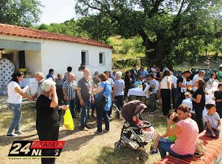 Νέα Φιγαλεία: Ο εορτασμός στο εξωκλήσι της Αγία Μαρίνα στο Κάμπο της Μηλιάς (ΦΩΤΟ)