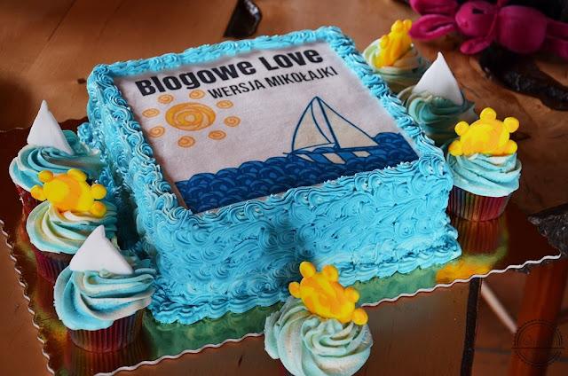 tort blogowe love babeczki słońce łódka