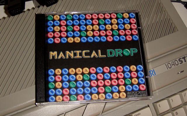 RGCD: Manical Drop (Atari ST/STE/Falcon)