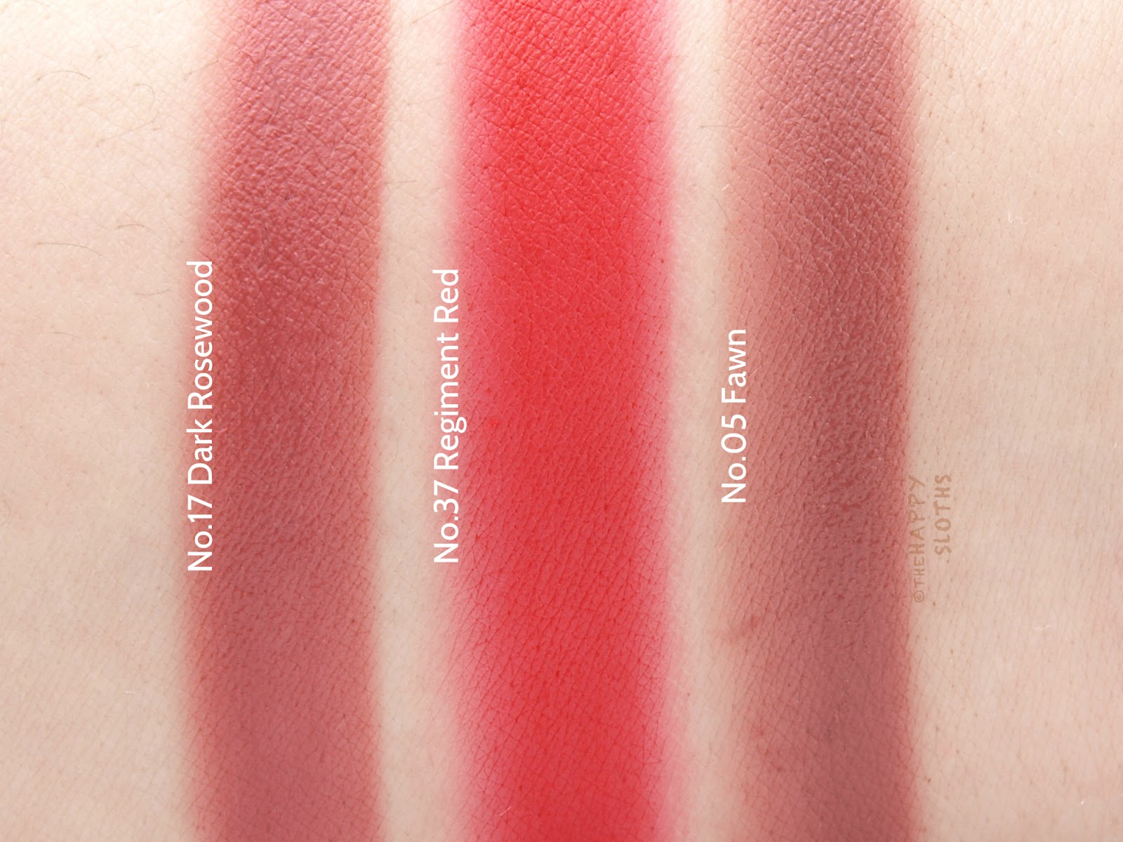 Burberry Liquid Lip Velvet: Review and Swatches Dark Rosewood Regiment Red Fawn