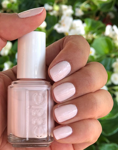 Pale Pink For Nails The Blondissima