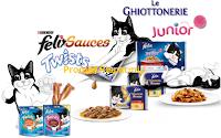 Logo Purina-Felix ''Gatti da Marachelle'': vinci gratis 61 forniture e 9 iRobot Braava