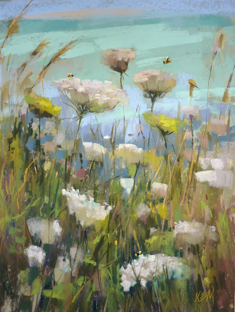 Painting My World: Three Tips for Framing Pastels for an Exhibition