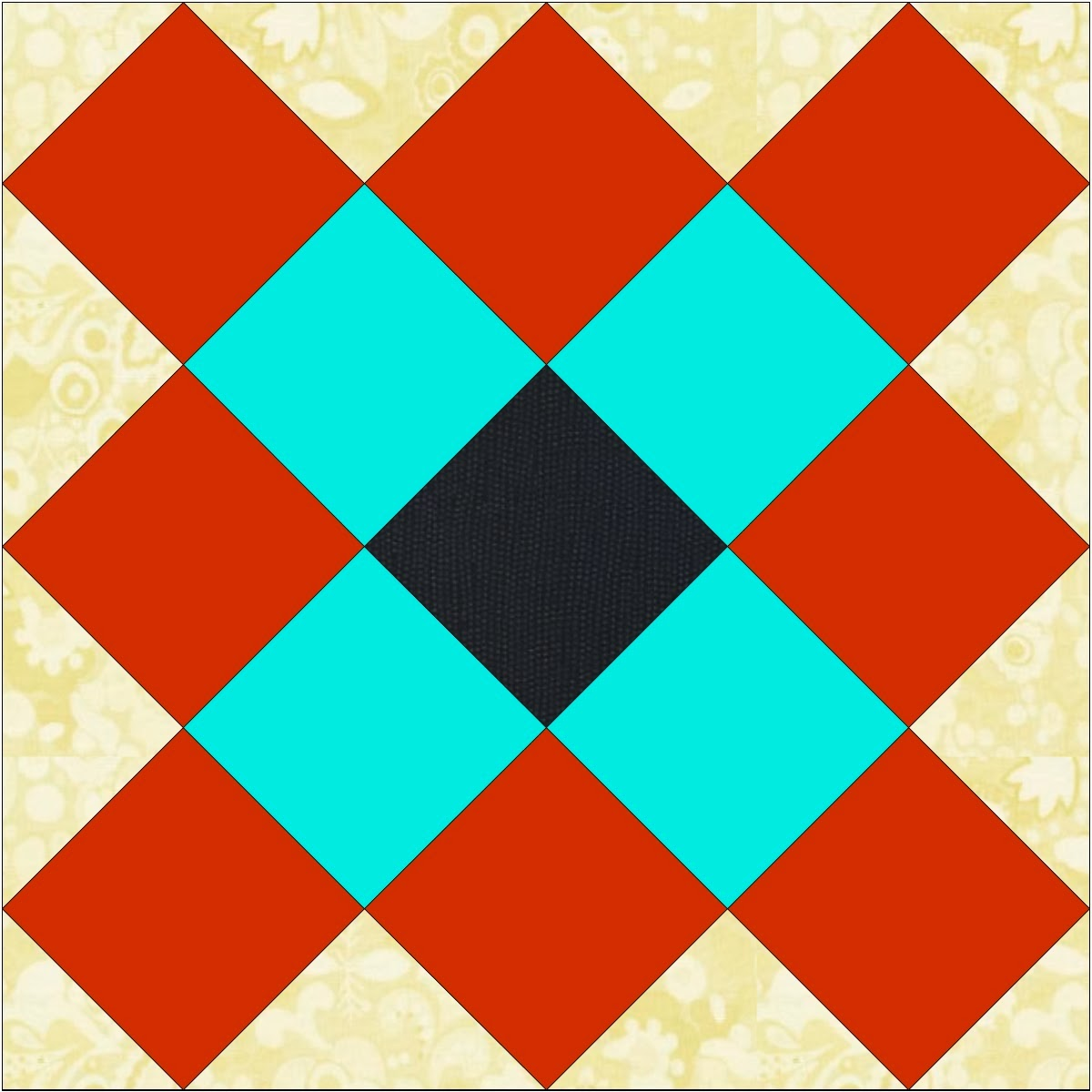 Sew Fresh Quilts: Granny Square Quilt Block Tutorial - Part 1 : traditional quilt block patterns - Adamdwight.com