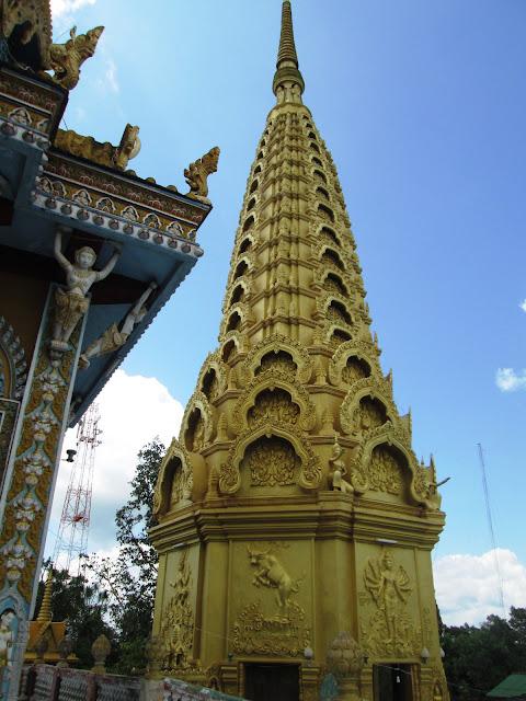 Pagoda Phnom Sampeau en Battambang
