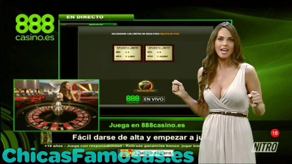 Casino 888 Presentadora