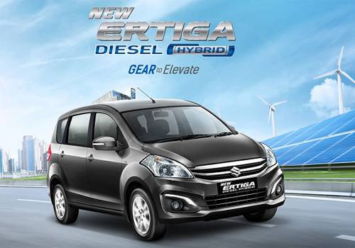 Spesifikasi dan Harga Suzuki New Ertiga Hybrid