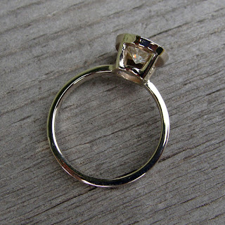 open bezel ring