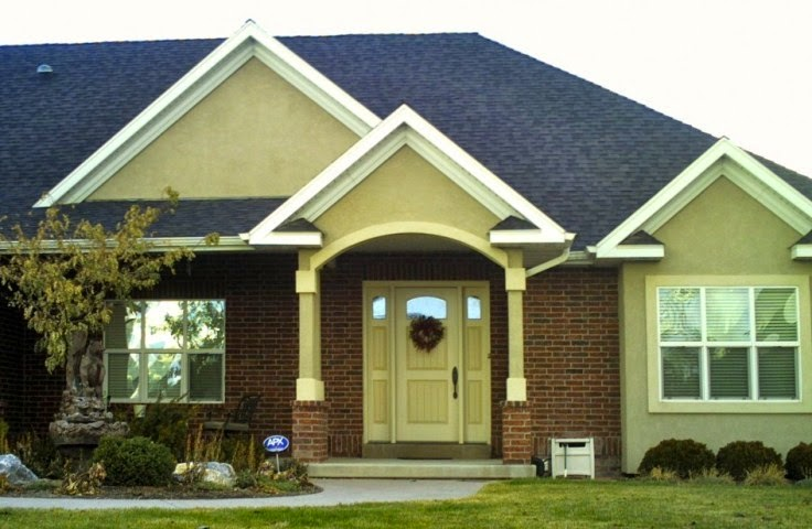 Exterior Walls Paint Ideas Color Scheme Color Combination