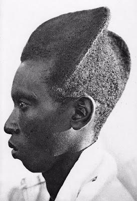 100 yıllık fotoğraflarla geleneksel ruanda saç modeli