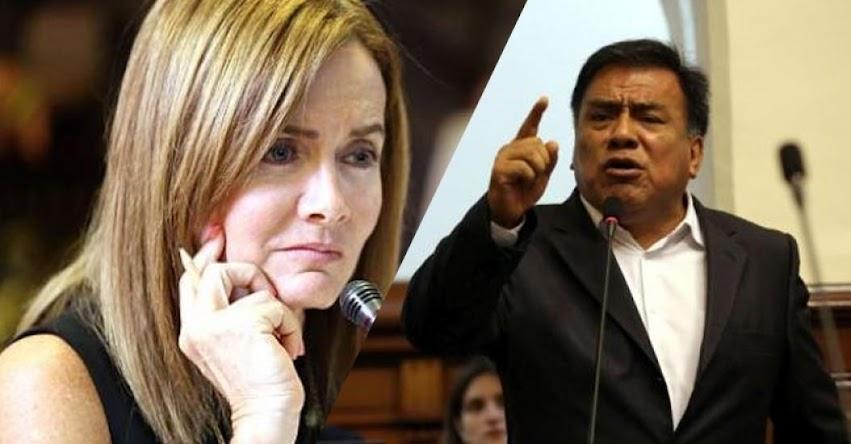 Ministra Martens debería ser censurada por huelga de maestros, sostiene Congresista Aprista Velásquez Quesquén
