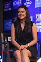 Actress Shraddha Srinath Stills in Black Short Dress at SIIMA Short Film Awards 2017 .COM 0049.JPG