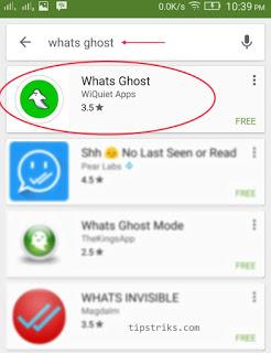 Cara whatsapp tidak terlihat online
