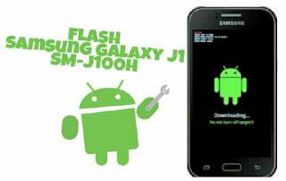 Cara Mudah Flash Samsung Galaxy J1 SM-J100H Dengan Odin Dijamin Sukes