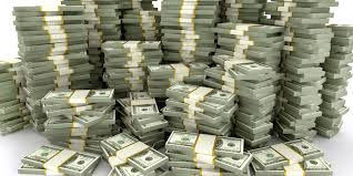 photo of stacks of money