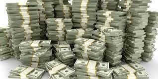 photo of stacks of money