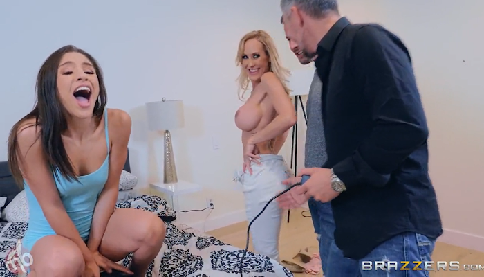 Brazzers Exxtra - Brandi Love And Abella Danger