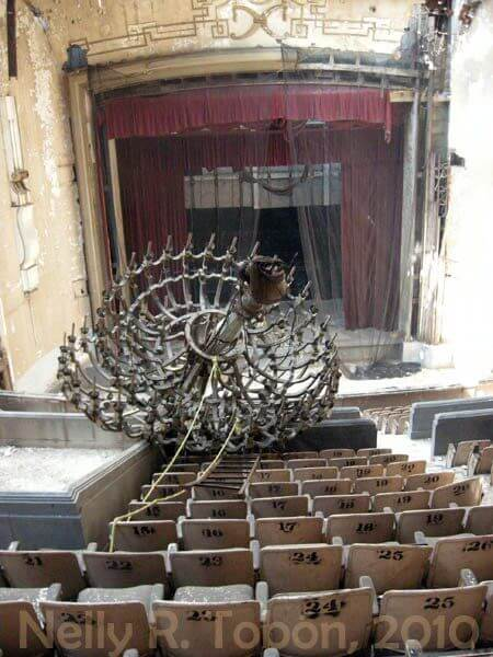 Abandoned Ciné Ópera movie theater in Mexico City