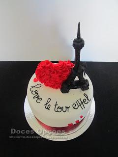 bolo torre eifel bragança doces opções
